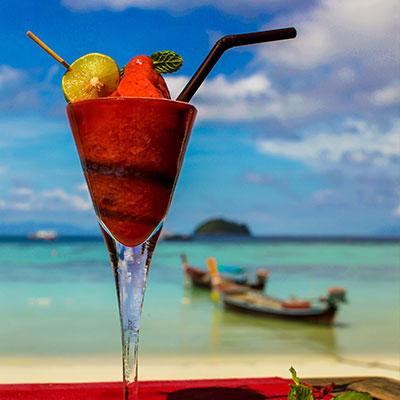 Beachfront bar Koh Lipe