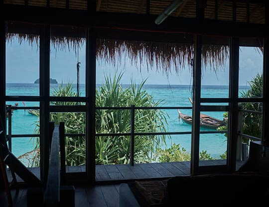beachfront big breezy bungalow with views of the Andaman sea
