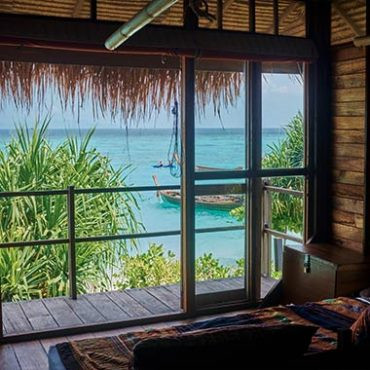 beachfront accommodation on Koh Lipe