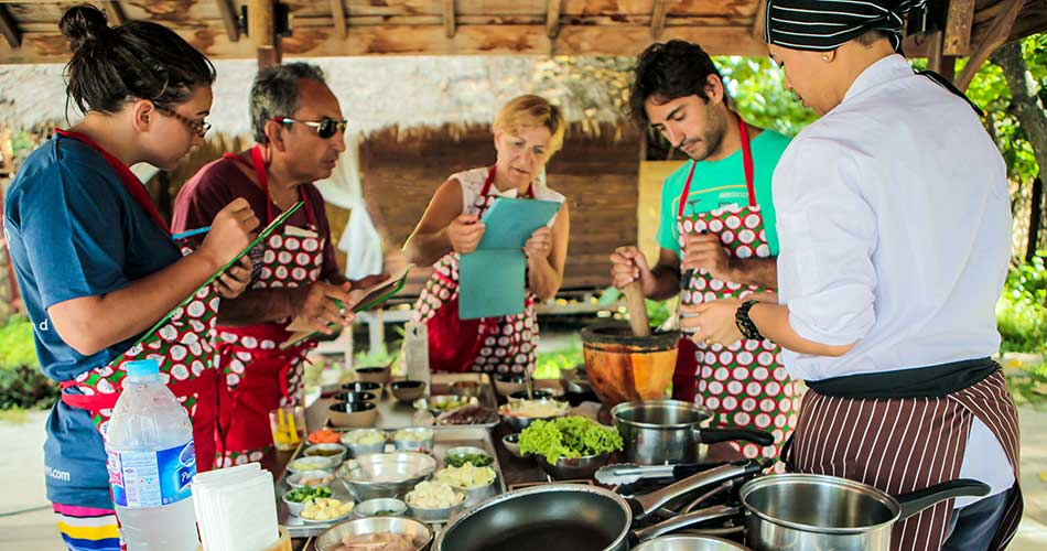 Castaway resort cooking class, Koh Lipe Thailand