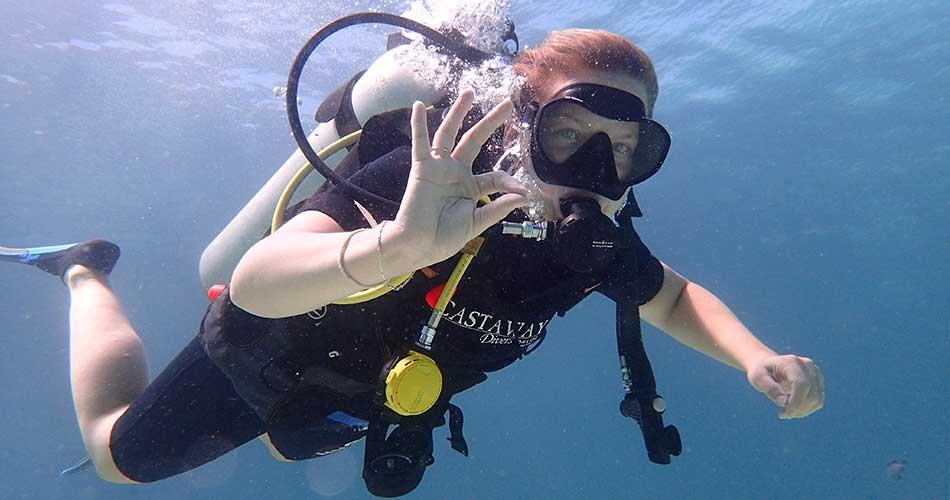 Diving - Castaway resort activities