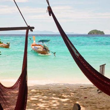 Koh Lipe resort: Castaway Resort BeachFront Bungalow with great views of sunrise beach on Koh Lipe