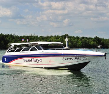 speedboat used to get on and off Koh Lipe. very Large Speedboats with 80 seats