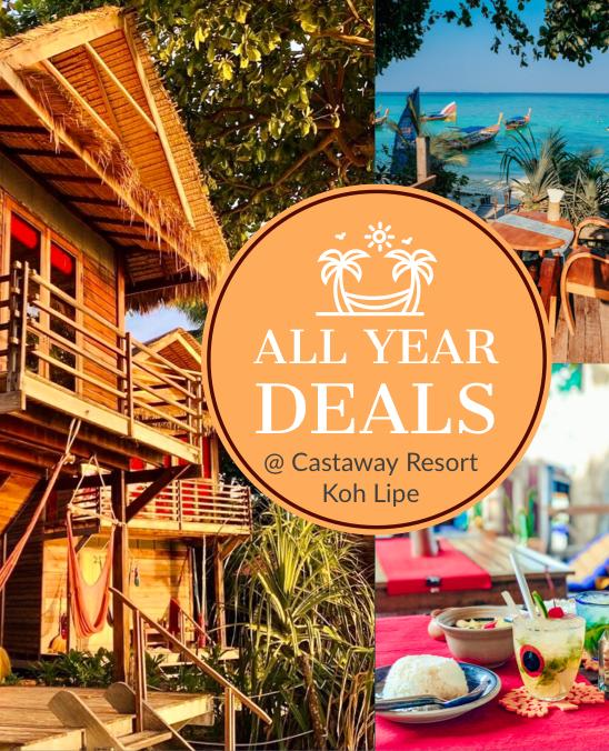 advertising package or promotion at castaway koh lipe
